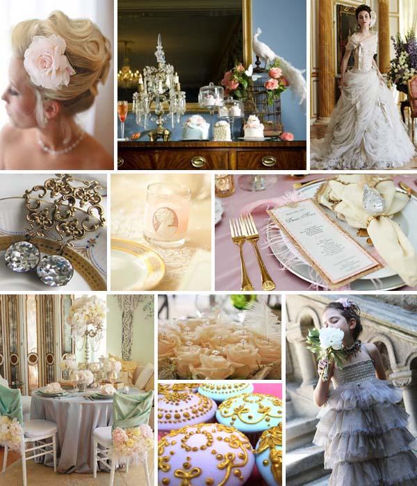 свадьба в стиле Рококо