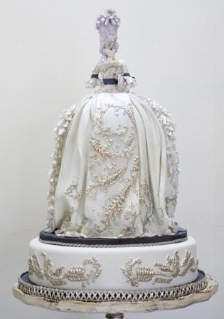 торт в стиле рококо