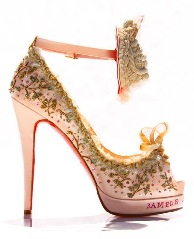 туфли в стиле рококо